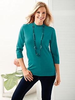 3/4 Sleeve Turtleneck Sweater product image (248663.PE.1.1_WithBackground)