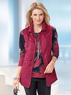 Turndown Collar Vest product image (248720.RD.2.1_WithBackground)