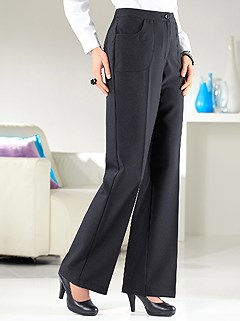 Elastic Waistband Pants product image (281732.BK.1.1)