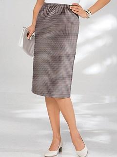 Ribbed Midi Skirt product image (282033.GYCK.3.1_WithBackground)