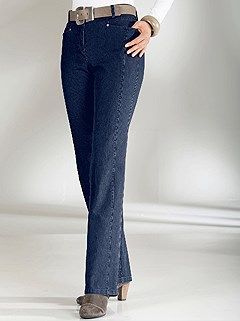 Paneled Boot Cut Denim product image (282884.BLUS.2.1_WithBackground)