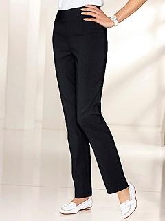 Stretch Elastic Waistband Pants product image (282916.BK.4.1_WithBackground)