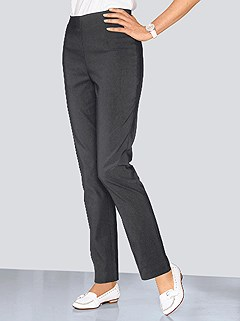 Stretch Elastic Waistband Pants product image (282916.CHAR.5.1_WithBackground)