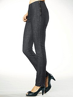 Zip Detail Jeans product image (283312.GYDE.01)