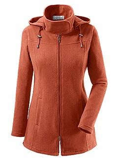 Hooded Fleece Long Cardigan product image (283959.RU.1.1_WithBackground)