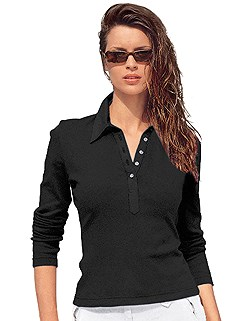 Long Sleeve Polo Top product image (287382.BK.1.3_WithBackground)