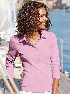 Long Sleeve Polo Top product image (287382.RS.1.314_WithBackground)
