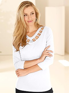 Embellished Cut Out Top product image (288872.WH.3.8_WithBackground)