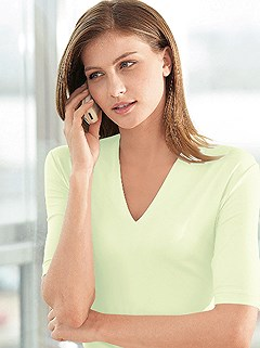 V-Neck Top product image (288913.PS.1.HE)