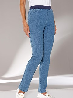 Stretch Waistband Jeans product image (294117.FADE.6.1_WithBackground)