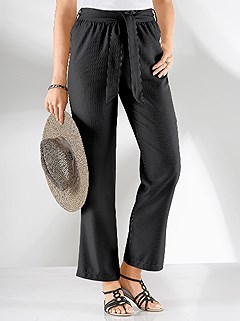 Tie Waist Pants product image (295988.BK.2.8_WithBackground)