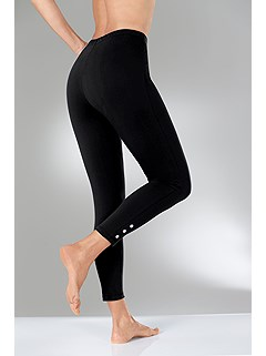 Stretchy Cropped Leggings product image (297005.BK.1.2_Raw)
