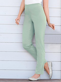 Wide Elastic Waistband Pants product image (303062.MT.2.2_WithBackground)