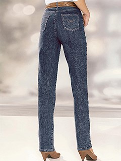 Decorative Stitching Jeans product image (303145.DKBL.1.HE)
