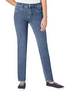 Narrow Fit Stretch Jeans product image (314439.DEBL.1.1_WithBackground)