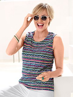 Striped Tank Top product image (317219.MULT.1M)
