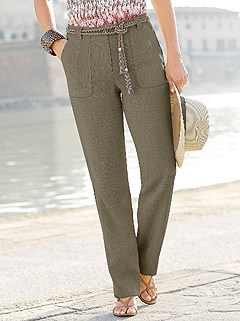 Elastic Waistband Dress Pants product image (317276.OL.2.1_WithBackground)