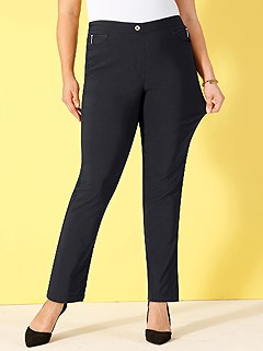 Faux Zipper Pocket Pants product image (327704.BK.1.20_WithBackground)