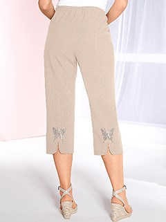 Butterfly Applique Capri Pants product image (330378.BE.1.2_WithBackground)