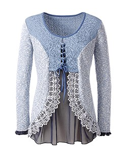 Lace Accent Sweater product image (330465.DEBL.1.1_Ghost)