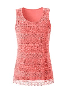 Layered Lace Sleeveless Top product image (331461.CO.1.1_Ghost)