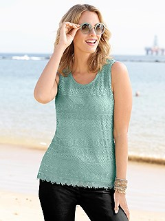Layered Lace Sleeveless Top product image (331461.GR.3.1_WithBackground)