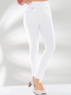 Slip On Stretch Pants product image (331969.WH.3.1_WithBackground)