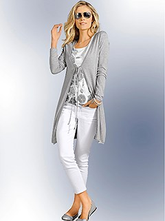 Tie Cardigan product image (345377.he)