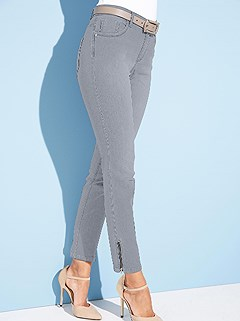 Ankle Zip Detail Jeans product image (351799.GY.5.1_WithBackground)