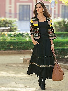 Gypsy Style Skirt product image (356015.MULT.1.HE.356016.BK.1.HE)