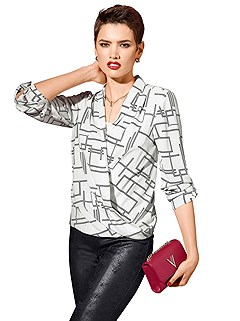 Wrap Look Blouse product image (357050-ECPR.001)