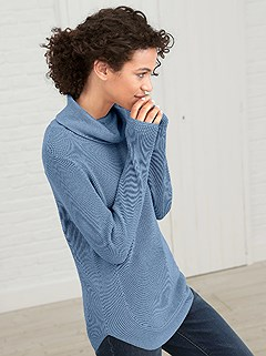 Rounded Hem Sweater product image (359639.LB.2.45_WithBackground)