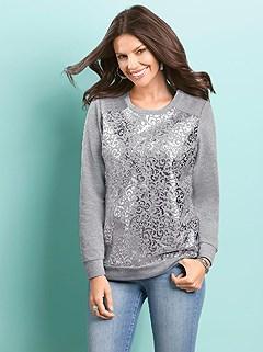 Ornamental Print Sweatshirt product image (360171.GYMO.2.1)