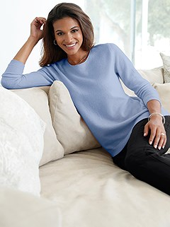 Round Neckline Sweater product image (362418.BMEL.2.2)