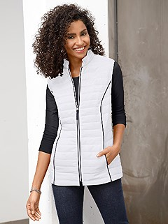 Quilted Viennese Seams Vest product image (365161.WHNV.1.1_WithBackground)
