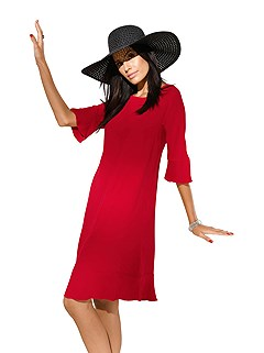 3/4 Sleeve Dress product image (367152-RD.00)