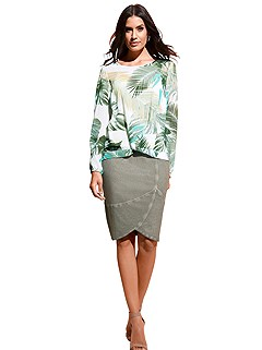 Tropical Print Blouse product image (367220)