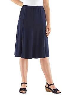 Flare Jersey Skirt product image (367481.NV.1.1_WithBackground)