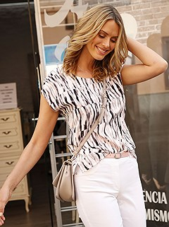 Print Blouse product image (367509.P7)