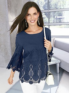 Lace Detailed Tunic product image (368299.NV.1.HE)