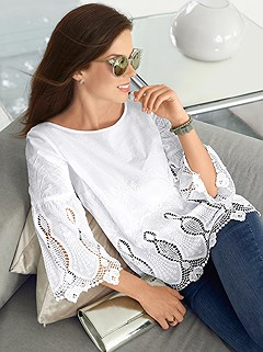 898674bfc08a lace detailed tunic $49 $34