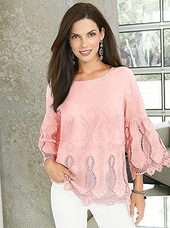 Lace Detailed Tunic product image (368299.RS.2.162_WithBackground)