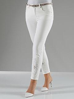 Lace Applique Detail Pants product image (369382.EC.1.HE)