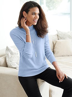 Soft Cashmere Sweater product image (382405.LBMO.1.1_WithBackground)