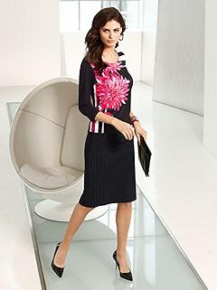 Pin Stripe Midi Skirt product image (382462.382466.AA.1)