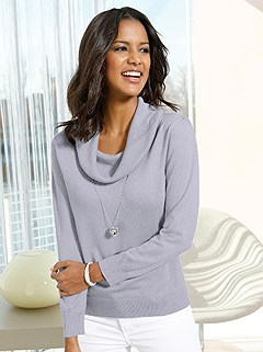 Cozy Cowl Neck Sweater product image (382470.GYMO.2.16)
