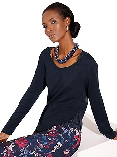 Lace Peek-a-Boo Sweater product image (383145.NV.1)