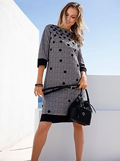 Mix Print Dress product image (383561.1)