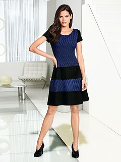 Color Block Dress product image (383671)
