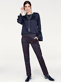 Satin Look Floral Pants product image (383683.383684.AA.1)